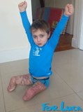 Hands Up For Luca!