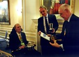 Prize Giving at RAF Club