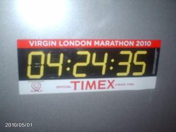 My Finish Time