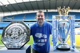 Me with the Premiership trophy