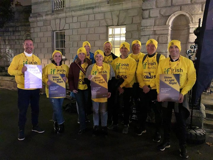 Irish Funds Fundraising Page