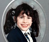 Amy as a child