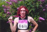 Emma after the race for life