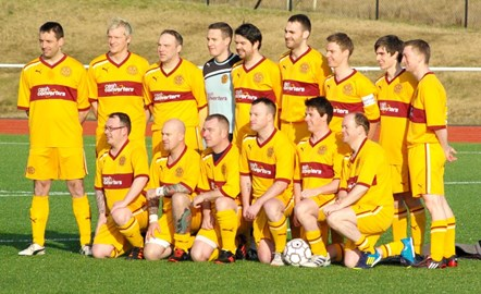 The Motherwell team