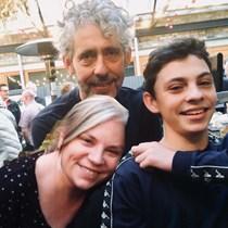 Pedro, Jenny and Luca Romhanyi