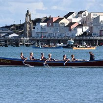 Sally's Rowing for Research page