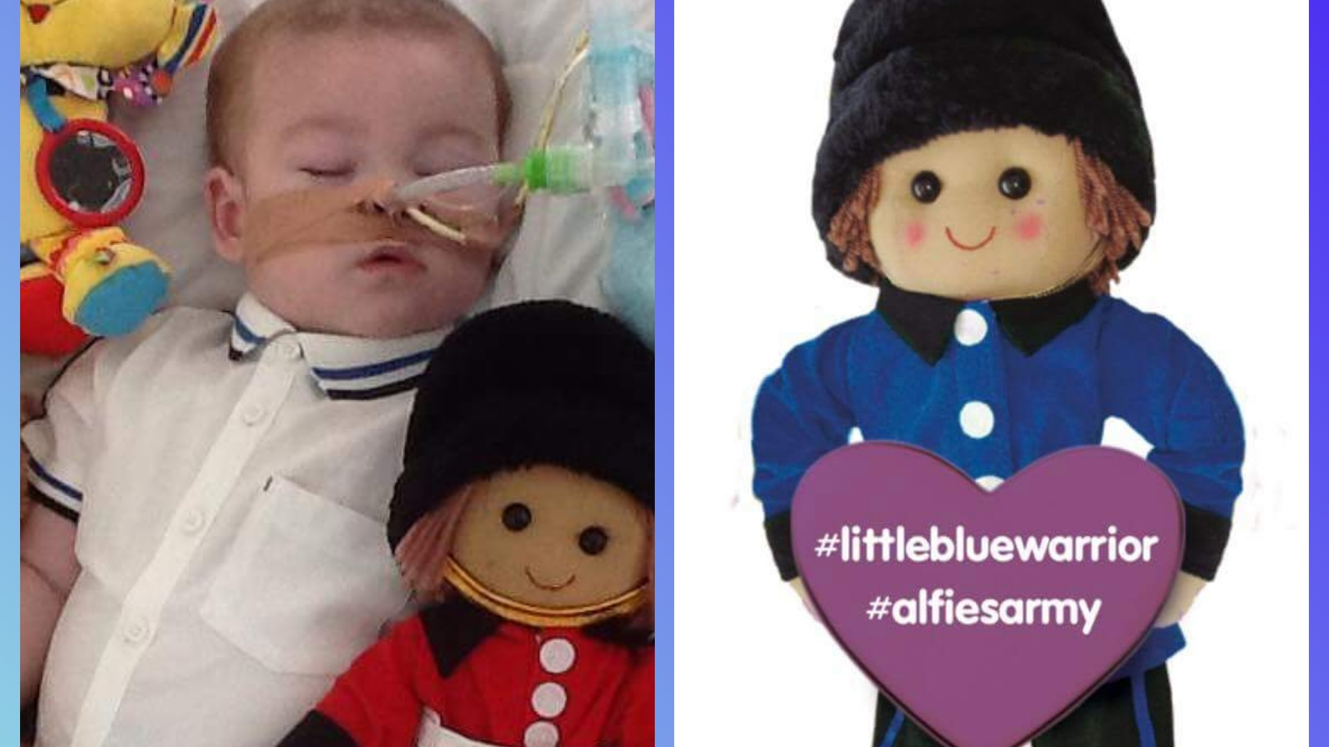 Crowdfunding To Get Alfie Evans A Diagnosis And Treatment Alfiesarmy Littlebluewarrior Alfieswar Alfiesfight On Justgiving