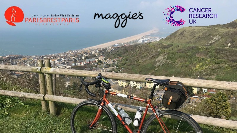 Phil Thomas - Paris-Brest-Paris to support Maggie's Centre Cambridge and Cancer Research UK in memory of Sam.