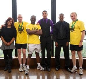 Simon Fred & Clinton with GC apprentices