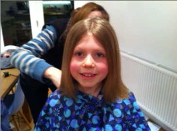 Isn't she so brave? Well done Poppy!