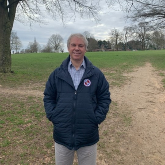 John's page 400 000 steps during Lent walking for water