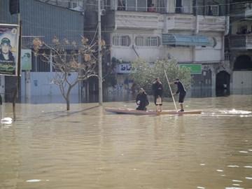 Gaza underwater 15th December 2013