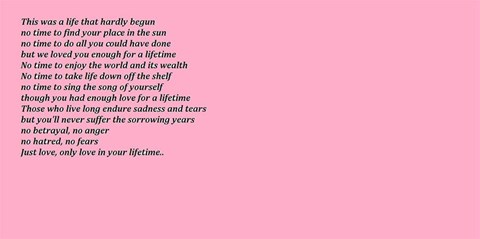 an unknown writer but from Natasha