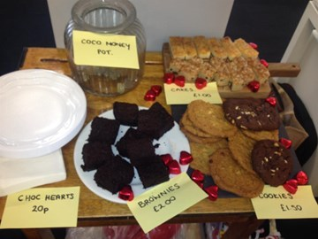 Our Coco's Valentine's Bake Sale