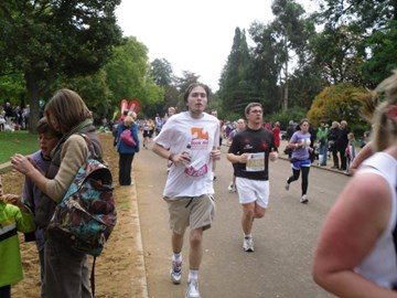 Me running the RPHM in 2009