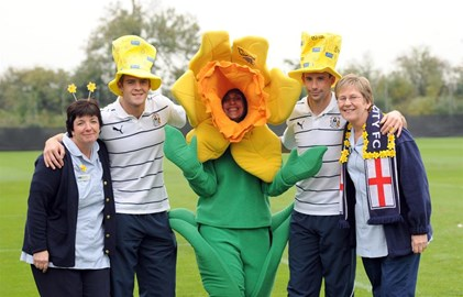 City players support Marie Curie
