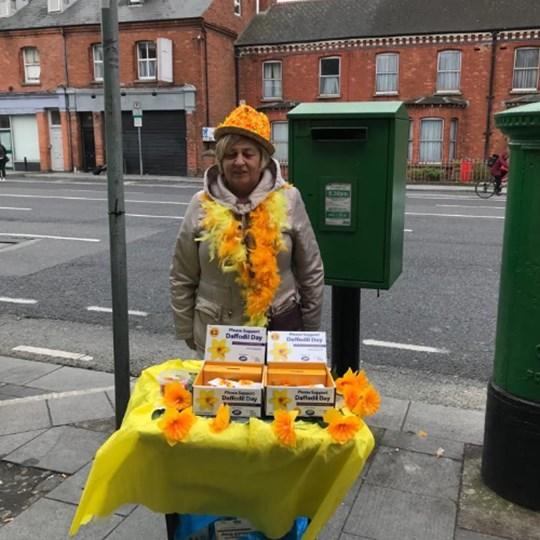 Clare Gormley Daffodil Day 2021