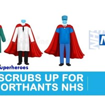 Scrubs Up for the NHS