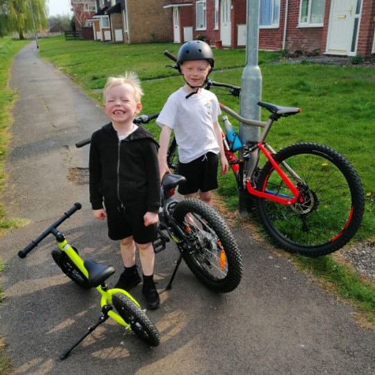 Father and son riding 100 miles for cancer