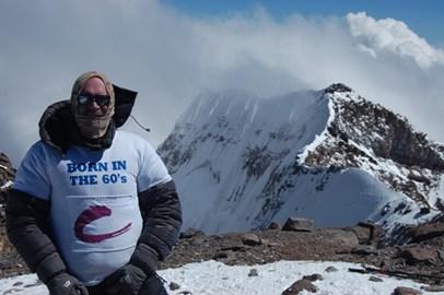 Aconcagua summit 22,840ft