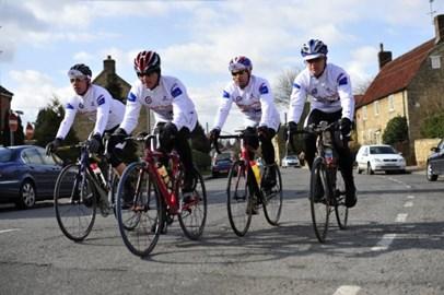 Team Riders - JC, Steve, Mat, Pete