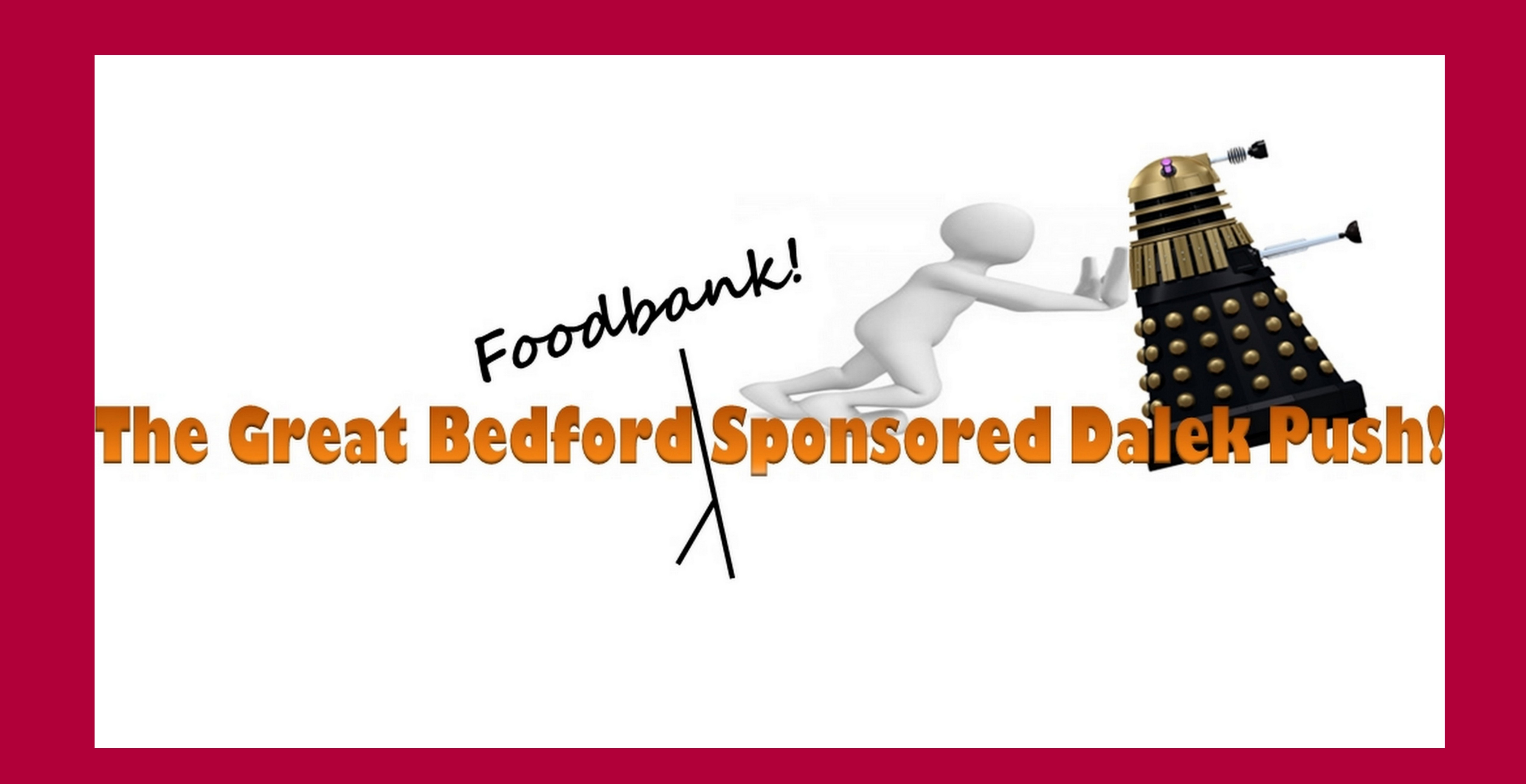 Crowdfunding To Go To Bedford Foodbank From The Great