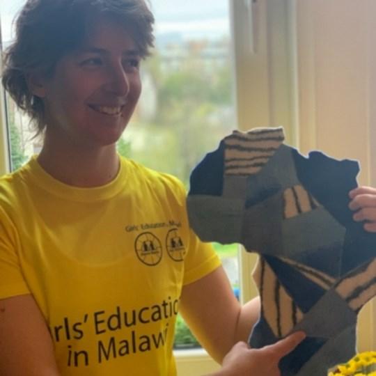 Walk for girls' education in Malawi