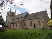 ST MARY THE VIRGIN CHURCH,BURGHILL