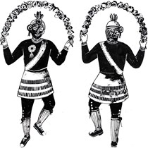 The Britannia Coconut Dancers of Bacup