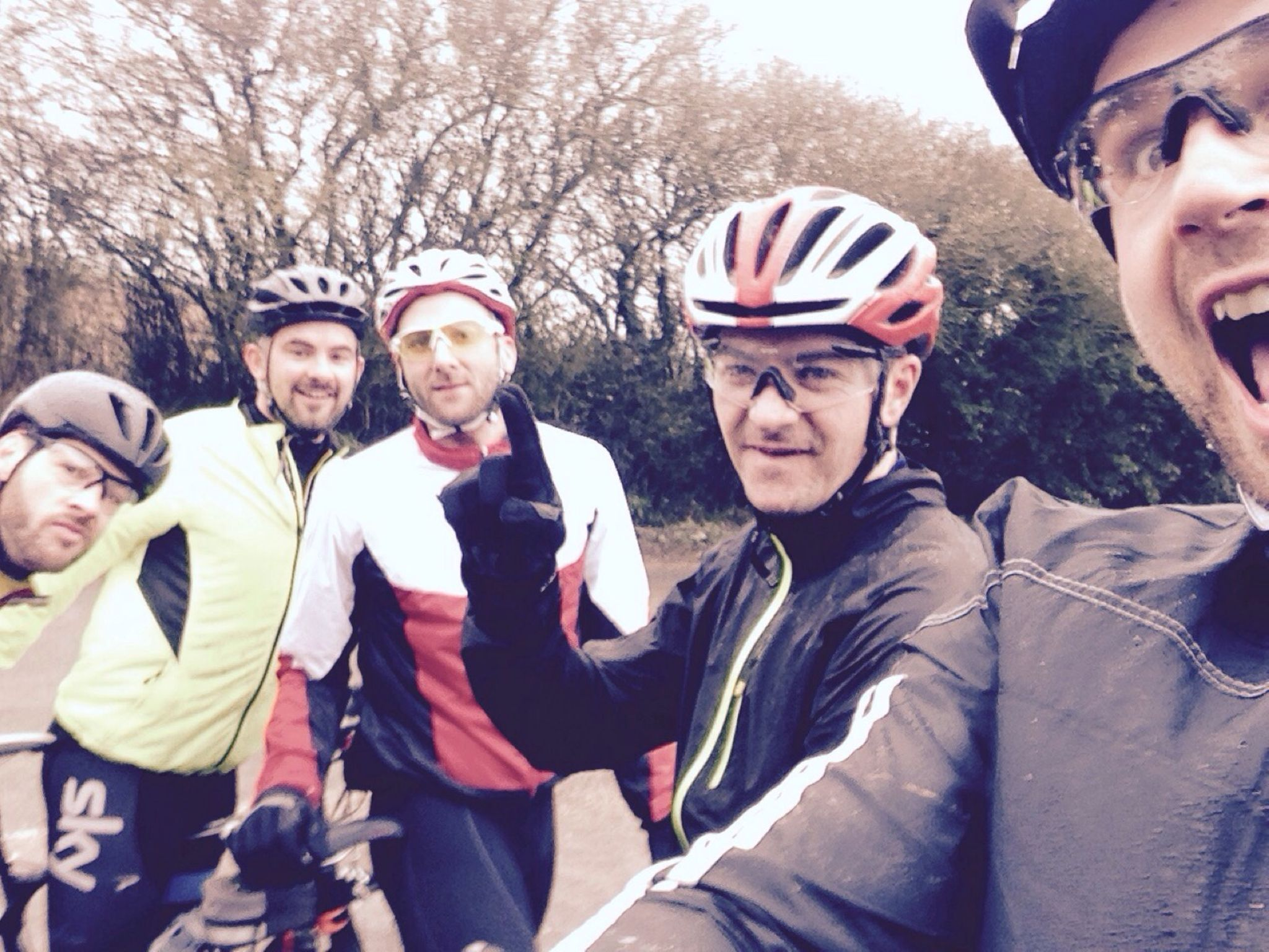 Nearly Middle Aged Dads (Team Zoo) do JOGLE