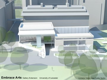 Artist's impression of the New Galleries