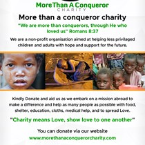 More than a conqueror charity