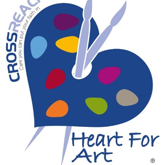CrossReach Heart for Art