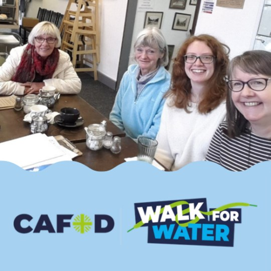 Parish of St Joseph's CAFOD Group Walk for Water