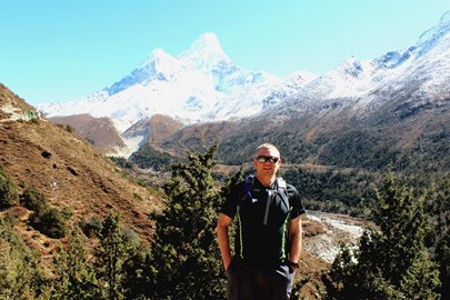 David at Everest