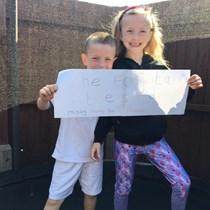 Maisie and Luke Fountain