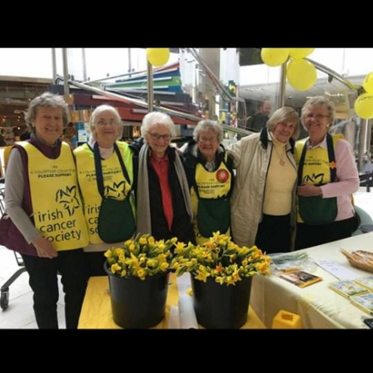Joan  Kate, Swan Centre Daffodil Day