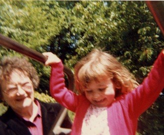 Me and my gran, not long before she died
