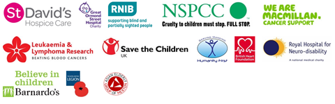 Some of the charities the money goes to.