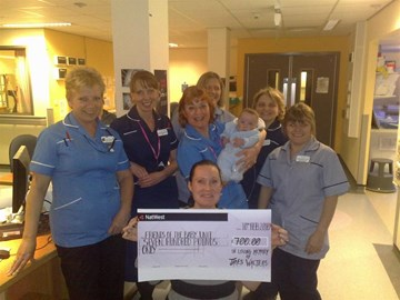 Donation from friends & family to NICU