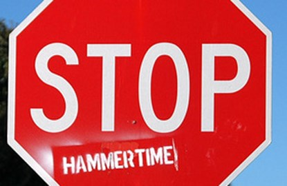 Stop.... Hammer Time
