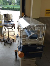 Baby incubator sent to Syria mid-August