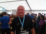Finish of Great North Run Sept 2010