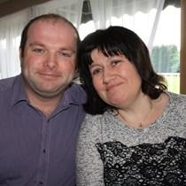 Caroline & Chris Hodgkiss