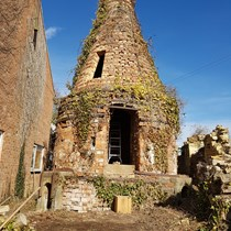 Winchcombe Pottery Bottle Kiln Restoration Project