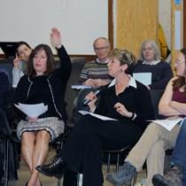 Becky, Karen, Rick, Kathleen, Stephen, Rhys - iWharfe Project.