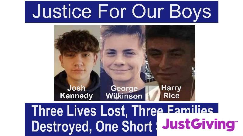 Help raise £55000 to Fight for Justice for Our Boys. We are trying to raise funds toward Legal costs to fight for the Truth and for Private prosecutions.