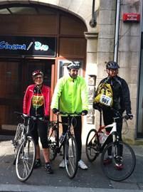 Clare, Neil & Simon kick things off!