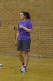 Pretending-to-be-sporty Rachel