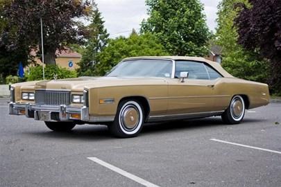 1976 classic golden Cadillac Eldorado co